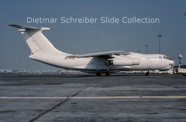 2000-09 UN-76496 Ilyushin 76TD (c/n 073410301) GST Aero