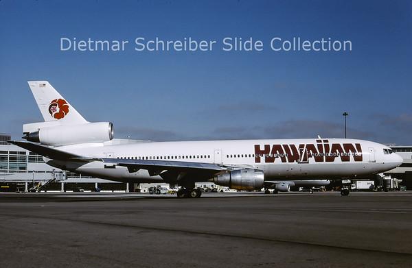 2001-04 N35084 Douglas DC10 Hawaiian Airlines