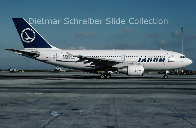 2001-12 YR-LCB Airbus A310 Tarom