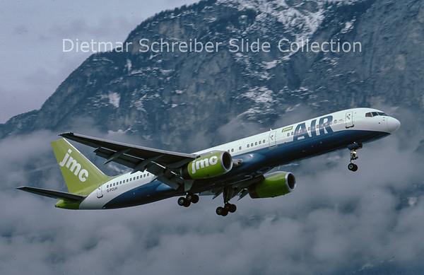 G-FCLH Boeing 757-200 JMC Air