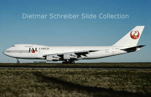2001-02 JA8169 Boeing 747-200 Japan Airlines