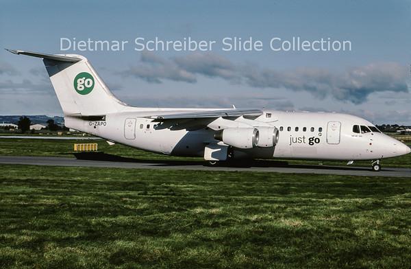 2001-10 G-ZAPO Bae 146-200QC (c/n E.2176) GO