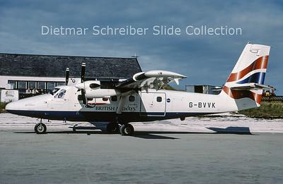 2001-10 G-BVVK DHC Dash 6-300 Twin Otter (c/n 666) British Airways