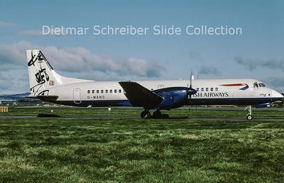 2001-10 G-MANO British Aerospace ATP (c/n 2006) British Airways