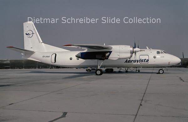 2001-08 EX-24807 Antonov 24RV (c/n 77310807) Aerovista