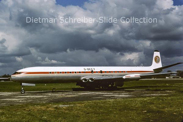 G-BEEY De Havilland Comet Egypt Air