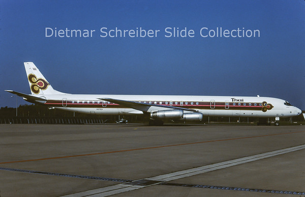 1984-05 HS-TGY Douglas DC8-60 Thai Airways