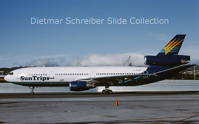 2001-07 N572RY Douglas DC10 Suntrips