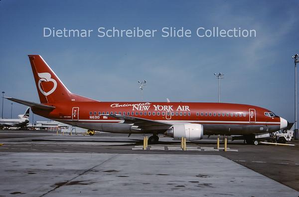 1988-06 N16310 Boeing 737-3T0 (c/n 23361) New York Air