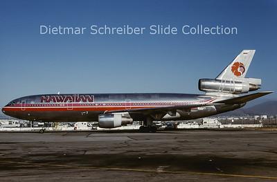 2000-11 N125AA Douglas DC10 Hawaiian Airlines