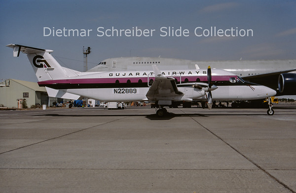 N22889 Beech 1900 Gujarat Airways