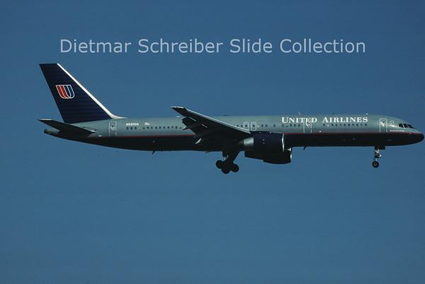 N528UA Boeing 757-200 United Airlines