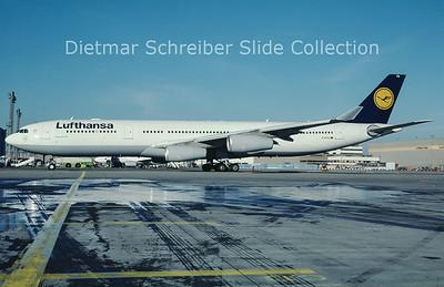D-AIFA Airbus A340-300 Lufthansa