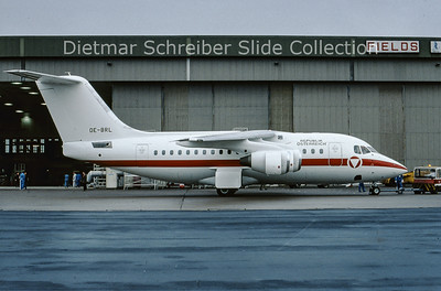 1990-11-27 OE-BRL Bae 146-100 (c/n E.1002) Austrian Government