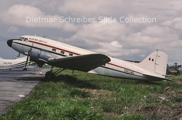 1998-05 OB-1345 Douglas DC-3A (c/n 11771) Alas del Oriente