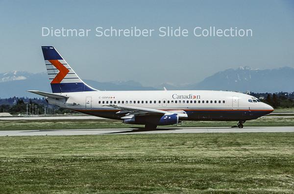 1999-07 C-GDPA Boeing 737-2T2C (c/n 22056) Canadian