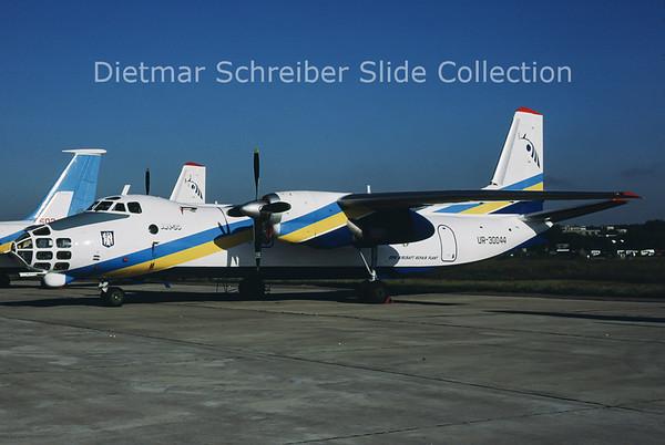 2001-09 UR-30044 Antonov 30 ARP 410