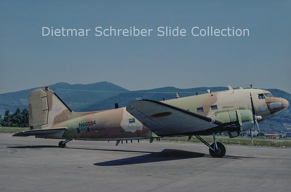 1980-08 N60154 Douglas DC3