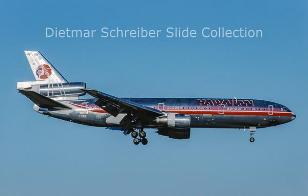 2002-01 N126AA MDD DC10-10 (c/n 46947) Hawaiian Airlines