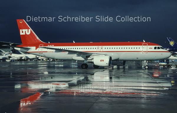 D-ALTE Airbus A320 LTU International