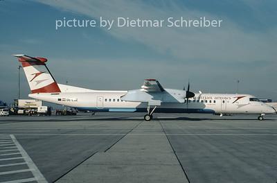 2007-02 OE-LGE Dash DHC8-400 Austrian Arrows