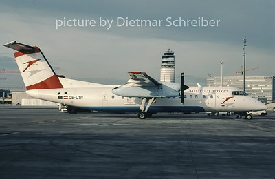 2007-01 OE-LTP Dash DHC8-300 Austrian Arrows