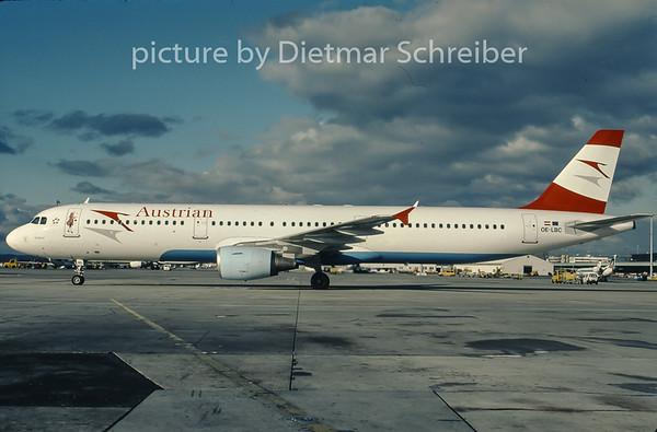 2007-04 OE-LAZ Boeing 767-300 Austrian Airlines