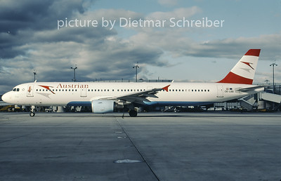 2007-01 OE-LBB Airbus A321 Austrian Airlines