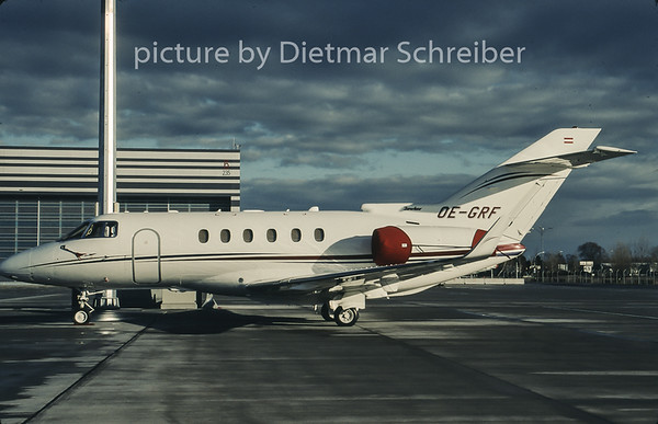 2007-01 OE-GRF Bae 125 Globaljet Austria