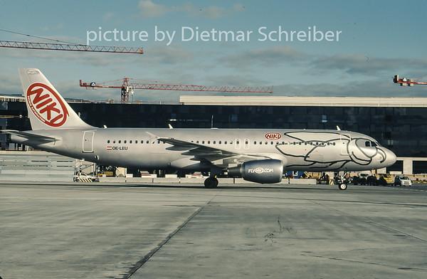 2007-01 OE-LEU Airbus A320 Flyniki