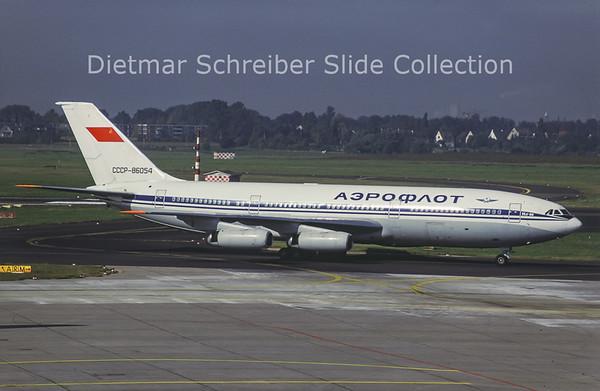 CCCP-86054 Ilyushin 86 (c/n 51483203021) Aeroflot