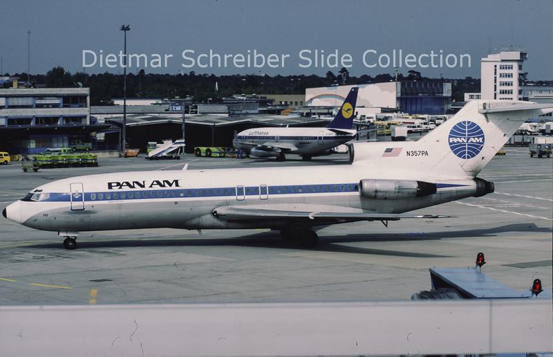N357PA Boeing 727-21 (c/n 19259) Pan American