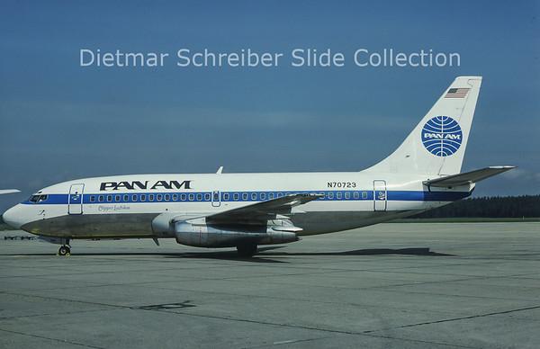 N70723 Boeing 737-297 (c/n 21739) Pan American