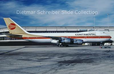 N609PE Boeing 747-238B (c/n 20534) Continental Airlines