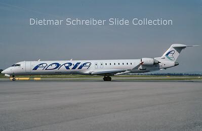 2009-08 S5-AAN Bombardier Regionaljet 900 (c/n 15207) Adria Airways