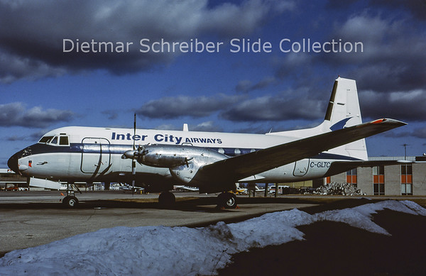 1985-12 C-GLTC Hawker Siddely 748 Inter City Air