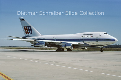 1986-03 N529PA Boeing 747SP United Airlines