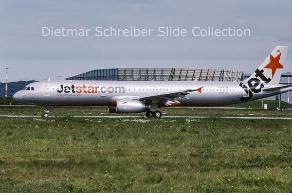 2009-05 D-AVZW Airbus A321 Jetstar