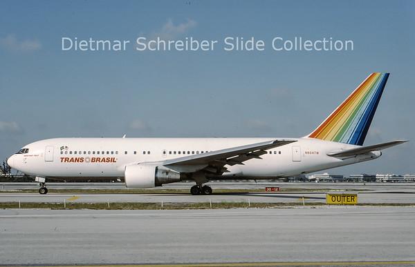 1993-08 N604TW Boeing 767-200 Transbrasil