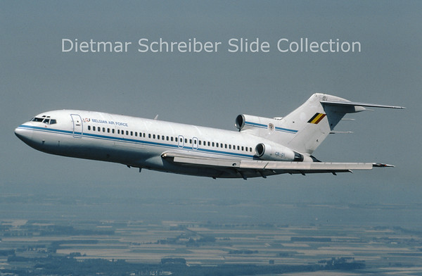 1995-08 CB01 Boeing 727-100 Belgian Air Force