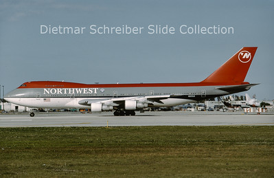 1994-02 N622US Boeing 747-200 Northwest Airlines