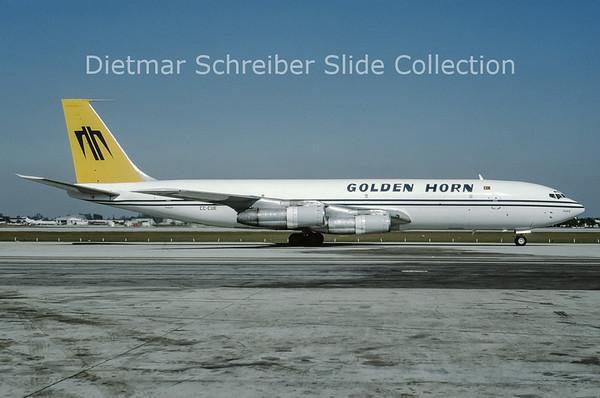 1993-12 CC-CUE Boeing 707 Golden Horn