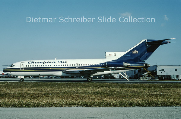 1996-02 N504MG Boeing 727-100 Champion Air