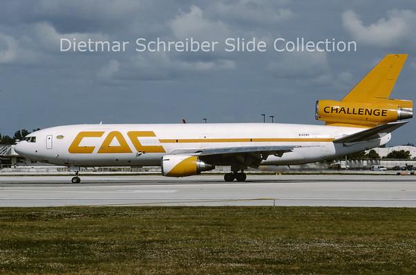 1998-12 N140WE Douglas DC10 Challenge Air Cargo