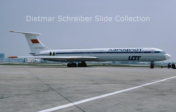 CCCP-86663 Ilyushin 62 Aeroflot