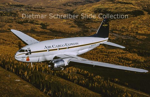 1998-09 N54514 Curtiss C46D-10-CU (c/n 33285) Air Cargo Express
