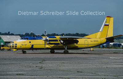 2009-07 RA-30053 Antonov 30 Lukiaviatrans