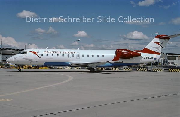 2009-07 OE-LCH Canadair Regionaljet 200 Austrian Arrows