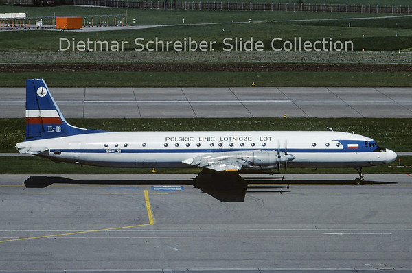 SP-LSI Ilyushin 18 LOT Polish Airlines