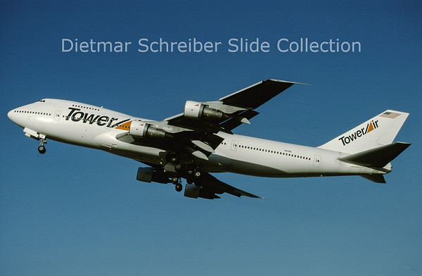 N6186 Boeing 747-200 Tower Air